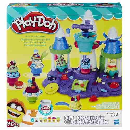 Play Doh Castelo do Sorvete  - Lançamento - Hasbro  - Doce Diversão