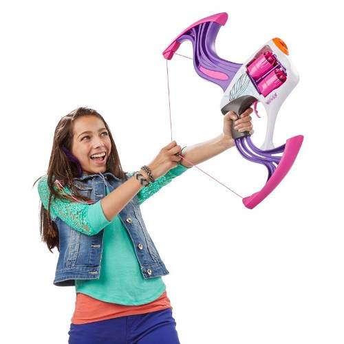 Nerf Rebelle Arco Flipside Bow – 2 tambores e 10 dardos - Hasbro  - Doce Diversão