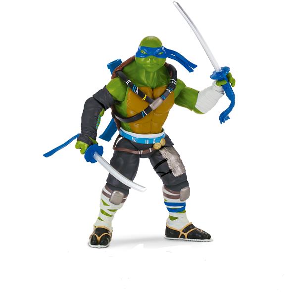 Tartarugas Ninja Filme II Luxo 28cm Leonardo  - Multikids  - Doce Diversão