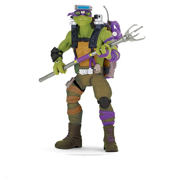 Tartarugas Ninja Filme II Luxo 28cm Donatello - Multikids  - Doce Diversão