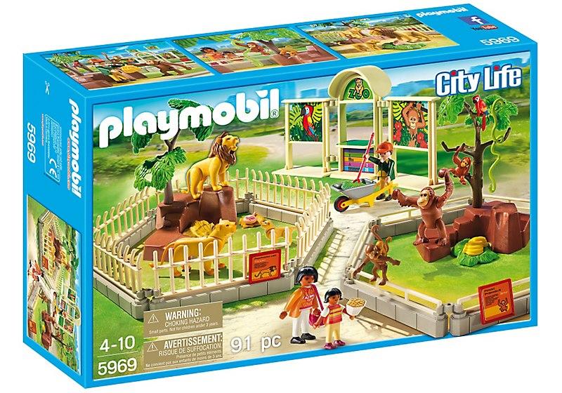 Playmobil Jardim Zoológico Playset - Sunny  - Doce Diversão