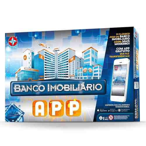 Banco Imobiliario APP – Com App Android  e IOS  - Estrela  - Doce Diversão