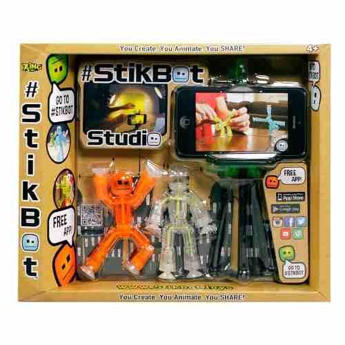 Stikbot com Studio - Com APP IOS e Android - Estrela  - Doce Diversão