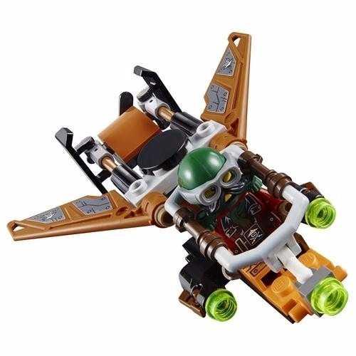 Lego 70605 – Ninjago – Fortaleza do Infortunio – 754 peças  - Doce Diversão