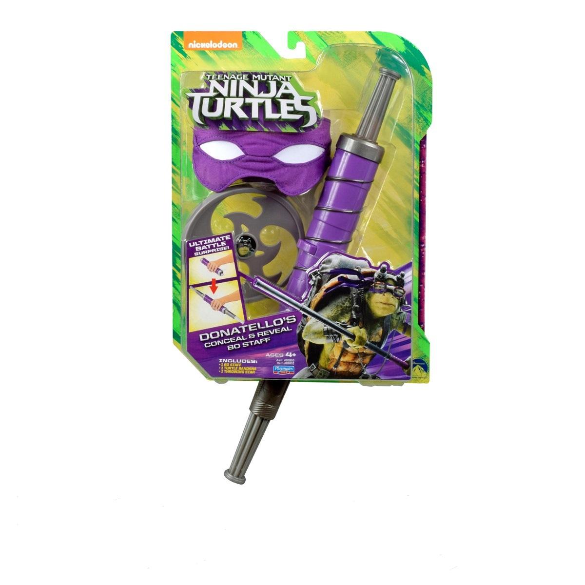 Tartarugas Ninja Kit Batalha Retrátil  Filme II – Donatello – Multikids  - Doce Diversão