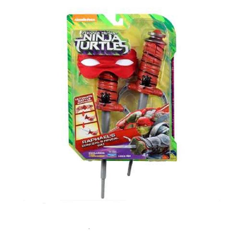 Tartarugas Ninja Kit Batalha Retrátil  Filme II – Raphael – Multikids  - Doce Diversão