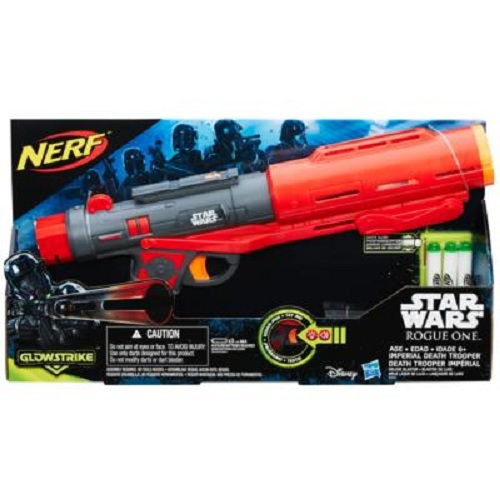 Nerf Star Wars Rogue One Death Trooper DLX S1 C/ Som e Luz - Hasbro  - Doce Diversão