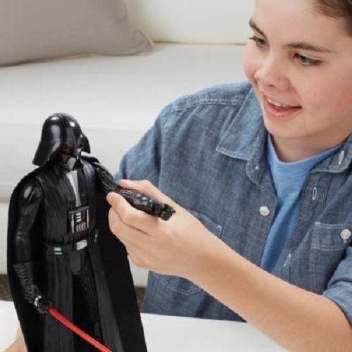 Boneco Eletrônico Star Wars Rebells Darth Vader 30 cm -Hasbro  - Doce Diversão