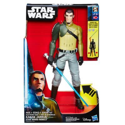 Boneco Eletrônico Star Wars Rebells Kanan Jarrus 30 cm -Hasbro  - Doce Diversão