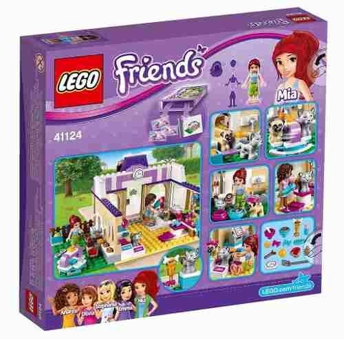 Lego 41124 – Friends – Creche para cães de Heartlake – 286 pç  - Doce Diversão