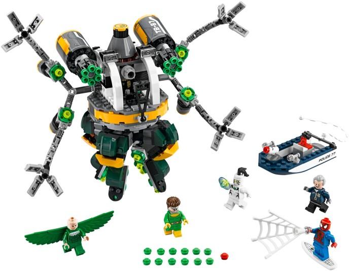 Lego 76059 – Homem Aranha Armadilha de Tentáculos de Doc Ock   - Doce Diversão
