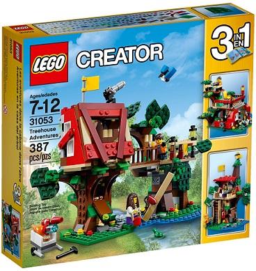 Lego 31053 – Creator 3 em 1 – Aventuras na Casa da Arvore -387 pç  - Doce Diversão