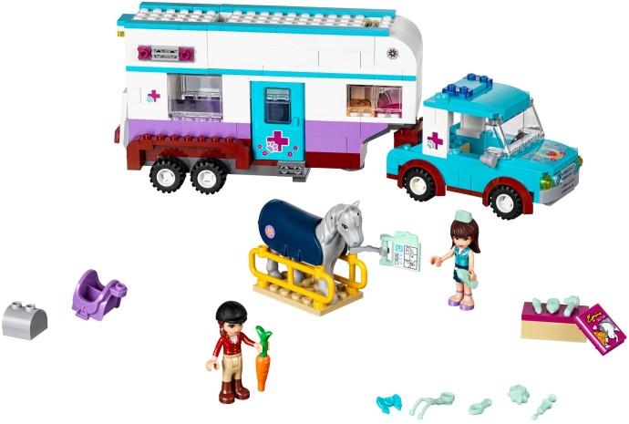 Lego 41125 – Friends – Trailer Veterinário para Cavalos  -370 pç  - Doce Diversão
