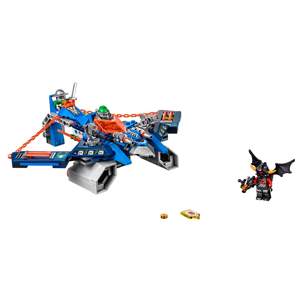 Lego 70320 – Knights –  Ataque Aéreo V2 de Aaron – 301 pç  - Doce Diversão