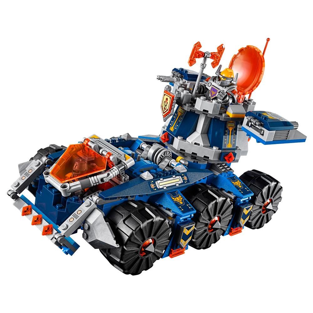 Lego 70322 – Knights –  Transportador de Torre de AXL – 670 pç  - Doce Diversão