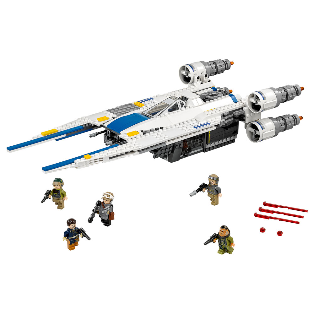 Lego 75155  – Star Wars- U-Wing Fighter Rebelde – 659 pç  - Doce Diversão