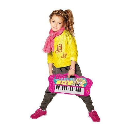 Barbie Teclado Fabuloso Com Função MP3 Player - Fun  - Doce Diversão