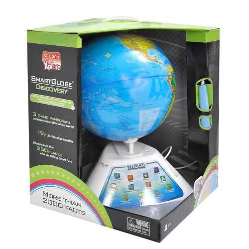 Smart Globe Discovery com Caneta Interativa -Oregon   - Doce Diversão