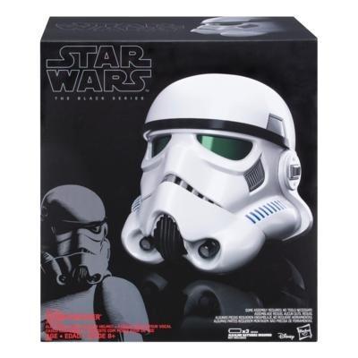 Capacete Eletronico Star Wars Black Series Stormtrooper  Modulador de voz - Hasbro  - Doce Diversão