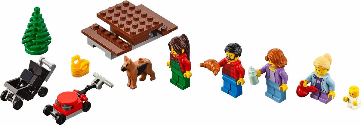 LEGO 60134 – City – Diversão no Parque Pessoas da Cidade   - Doce Diversão