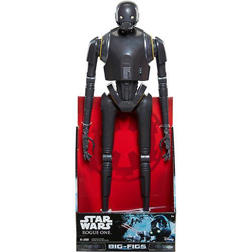 "Boneco Star Wars Rogue One 20"" K-2SO - DTC  - Doce Diversão"