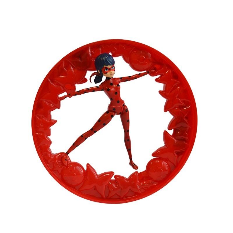 Boneca Articulada Ladybug Com Roda Giratória - Miraculous - Sunny  - Doce Diversão
