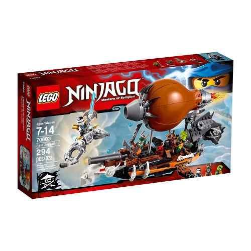 Lego 70603 – Ninjago -  Zepelim de Ataque - 294 Peças  - Doce Diversão