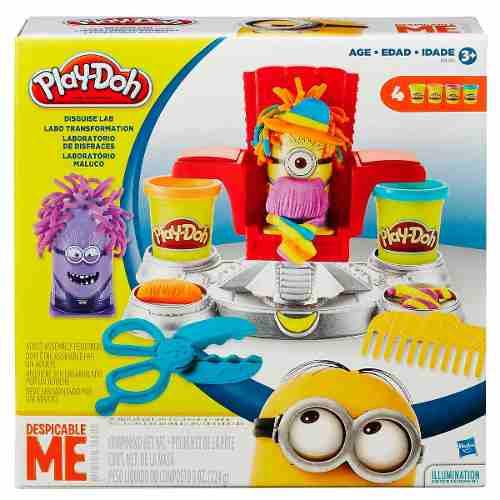 Massinha Play Doh - Laboratório Maluco Minion - Hasbro  - Doce Diversão