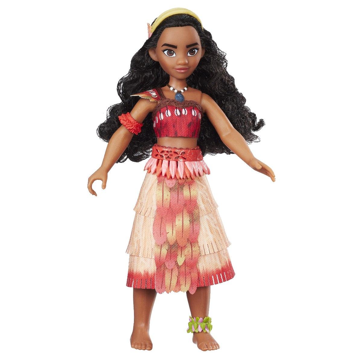 Boneca Disney Princesa Moana Cantora – 25 cm - Hasbro  - Doce Diversão