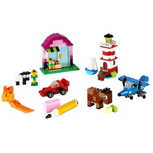 Lego 10692 Caixa Criativa Classic + Livro De Idéias - 221 pç  - Doce Diversão