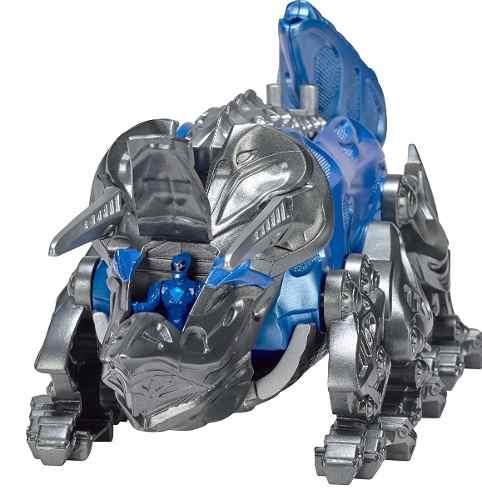 Power Rangers O Filme – Triceratops Zord Batalha + Ranger Azul –Bandai  - Doce Diversão
