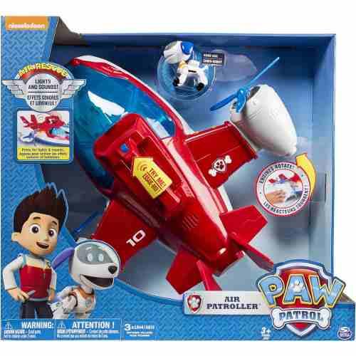 Patrulha Canina – Avião Patrulheiro Resgate + robô Dog - Sunny  - Doce Diversão