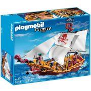 Playmobil Navio de Ataque Pirata 74 peças - Sunny