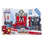 Vingadores playskool Laboratorio Tony Stark C/ som e luz - Hasbro
