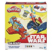 Play Doh Star Wars – luke Skywalker e Darth Vader - Hasbro
