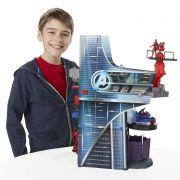 Torre Shield Vingadores + Iron Man, Hulk ,Ultron,Capitao America - Hasbro