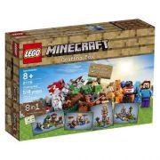 Lego 21116 -  Minecraft  – Caixa Criativa 518peças