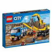 Lego 60075 – City Demolição - Escavadora e Caminhão