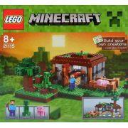 Lego 21115 Minecraft - A Primeira Noite - 408 Peças