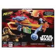 Lançador Nerf Crossbow Star Wars Chewbacca  - Bowcaster - Hasbro