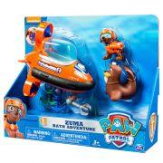 Patrulha Canina - veiculo + figura  - Zuma Resgate Aquatico - Sunny
