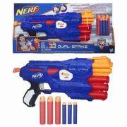 Lançador Nerf N Strike Elite Dual – 6 Dardos Elite/Mega - Hasbro