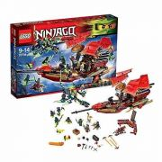 Lego 70738 - Ninjago -  Voo Final Do Barco Do Destino- 1253 peças