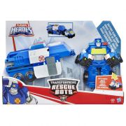 Transformers Playskool Rescue Bots Chase Police 3 em 1 – Hasbro