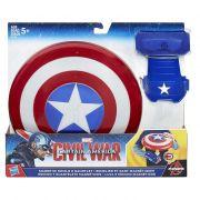 Escudo e Luva magnéticos Capitão America Guerra Civil – Hasbro