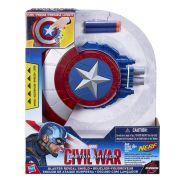 Escudo de Ataque C Lançador Nerf Capitão America Guerra Civil – Hasbro