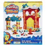 Play Doh Town Fire Quartel Corpo de Bombeiros - Hasbro