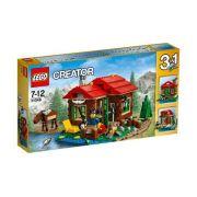 lego 31048 - creator - Casa do Lago 3 em 1 -368 peças