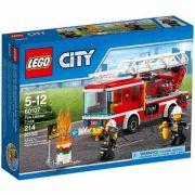 Lego 60107 City -Caminhão Bombeiros com Escada de Combate ao Fogo