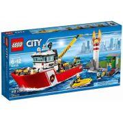 Lego 60109 City Barco  Bombeiros de Combate ao Fogo 412 peças